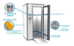Túnel de Congelamento Rápido e Ultra Congelador
