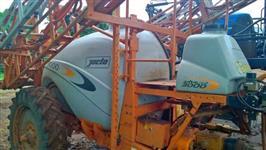 Pulverizado Jacto Advance AM 24 eletro eletronico ano 2009 Em Pleno Trabalhando