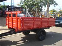 Carreta Agrícola para 3 toneladas basculante (nova)