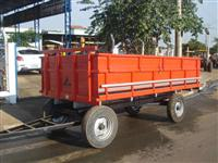 Carreta Agrícola para 6 toneladas (nova)2 eixos com sobre tampas