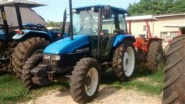 Trator Ford/New Holland TL80 4x4 ano 01