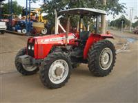 Trator Massey Ferguson 255 4x4 ano 10
