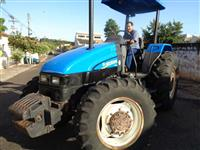 Trator Ford/New Holland TL85E 4x4 ano 08