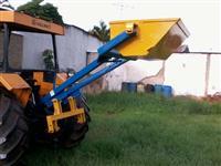 Concha Traseira CTA-1000 (nova,para tratores médios e grandes,em todo o Brasil)