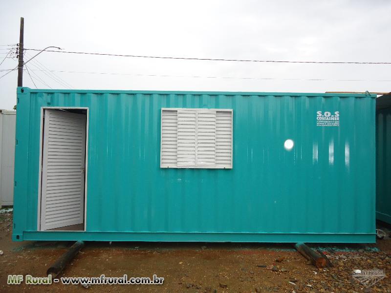 Containers CASAS , LOJAS , PLANTÃO DE VENDAS E CANTEIROS DE OBRAS