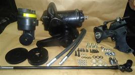 KIT ADAPTAÇÃO DIREÇÃO HIDRÁULICA FORD F600 F11000,F13000,F14000/ MB 1113