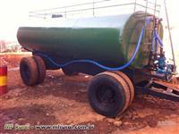 Pipa Tanque Agrícola, 8500 ou 10000 litros