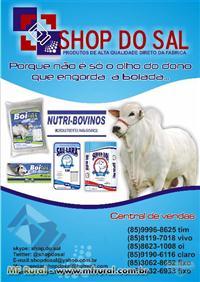 SAL BOIADEIRO DIRETO DE FÁBRICA