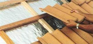 Manta termica de subcobertura para isolamento térmico de telhados 1 e 2 faces