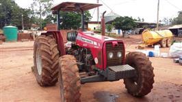 Trator Massey Ferguson 255 4x4 ano 11