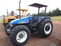 Trator Ford/New Holland tl100 4x4 ano 00