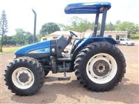 Trator Ford/New Holland tl95 4x4 ano 08
