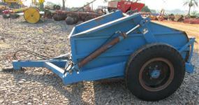 Raspadeira Agricola Controle Remoto com Rodas Laterais marca BALDAN modelo RACR