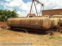 Tanque de fibra para transporte vinhaça