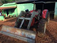 Trator Massey Ferguson Advanced 4x4 ano 08