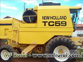 Colheitadeira TC 59 - 02/02 - NEW HOLLAND