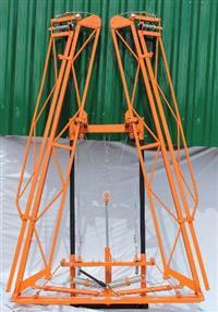 kit barra hidráulica para pulverizador jacto 600  800 2000 montana columbia