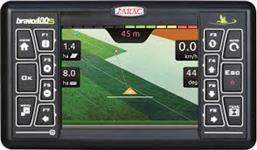 Gps agrícola piloto automático comando elétrico controlador de vazão