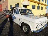 D-10 Ano 83 - Branca - Hidráulica - Maçarico - Carroceria de Madeira - Impecável