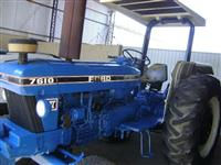 Trator Ford/New Holland 7610 4x2 ano 90