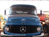 Caminhão  Mercedes Benz (MB) caçamba agrícola  ano 81