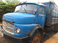 Caminh�o  Mercedes Benz (MB) truckc graneleiro  ano 70