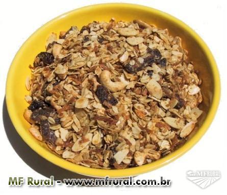 Granola tradicional a R$ 4,90