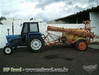 Trator Ford/New Holland 4600 4x4 ano 85
