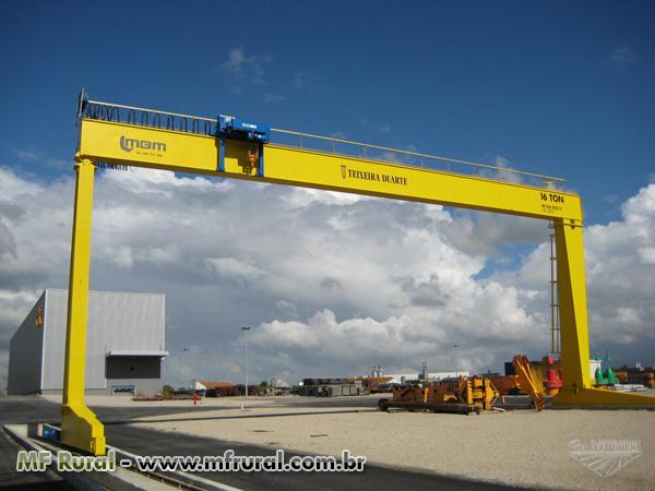 Compramo pontes rolantes e p rticos de 3 a 150 toneladas for Porticos sa