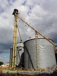 02 silos marca Granel 5.500 sacas cada