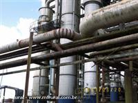 Usina/destilaria para desmontar