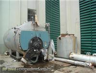 Caldeira ALBOORG 6.300 kg de produção de vapor com 17,5 kgf/cm² de pressão