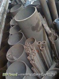 Tubos aço carbono mecanico e conecções e flanges