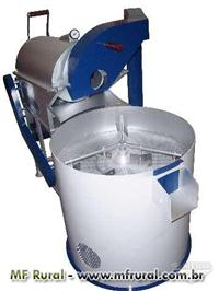 Torrador com peneira e resfriador para café capac. de 10kg por carga
