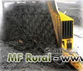 Compostador de resíduos orgânicos e lodo indústrial, misturador para compostagem