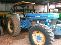 Trator Ford/New Holland 7810 4x4 ano 91