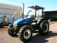 Trator Ford/New Holland TL 75E 4x4 ano 04