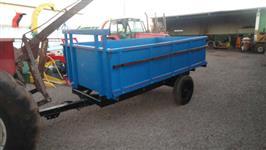 Carreta Agricola 2 rodas Chassis Massey Ferguson