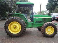 Trator John Deere 6605 4x4 ano 05
