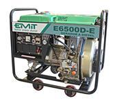 Gerador à Diesel 6,5kva - Aberto - 110v/220v - P. Elétrica - Monofásico - E6500D-E - EMIT