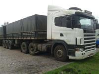 Caminh�o  Scania 124 trucada completa  transfiro 18900,00   ano 55