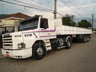 Caminhão  Scania trucado  pequenat entrada +  prestação 1.409,00 sem burocracia   ano 00