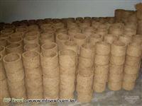 Fábrica de Vasos de Fibra de Coco