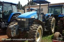Trator Ford/New Holland TS 6020 com toldo 4x4 ano 08