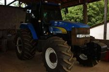 Trator Ford/New Holland TM 7020 Cabinado 4x4 ano 13