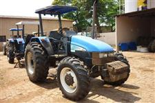 Trator Ford/New Holland TL 75E 4x4 ano 09