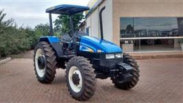 Trator Ford/New Holland TL85 MWM 4x4 ano 05