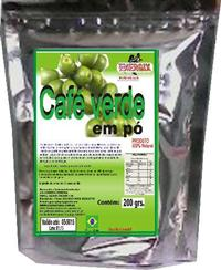 CAFE VERDE  EM PÓ EMB. DE 200 GRS. -  PREÇO ESPECIAL PARA REVENDEDOR