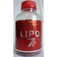 LIPO 7 Emagrecedor 120 Cápsulas de 500mg
