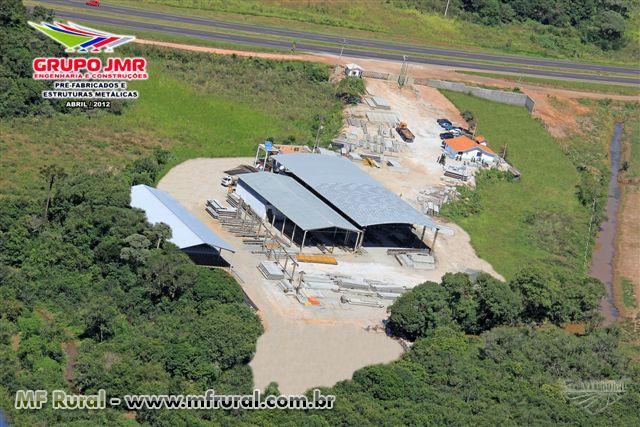 Pré-Moldados -  Galpões Pré-Fabricados Rural, industrial comercial e residencial